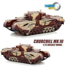 Gragon Churchill Mk III 1/72 DIECAST MODEL FINISHED TANK