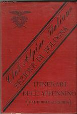 CLUB ALPINO ITALIANO ITINERARI APPENNINO DAL CIMONE AL CATRIA 1888