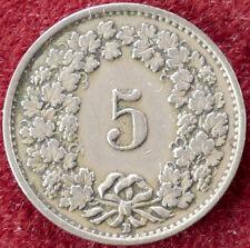 Switzerland 5 Rappen 1928 (D1204)
