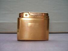 Briquet Silver Match 54 Vintage en Plaqué Or Gold Plated lighter