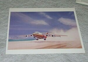 BAe146 AIRLINER TAKING OFF ARTIST'S IMPRESSION OFFICIAL PRESS PHOTOGRAPH WCN9352