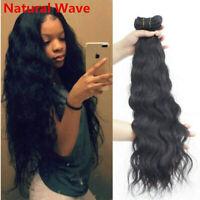 Natural Wave Virgin Hair 1/3/4Bundles Natural Remy Human Hair Extension Weft