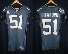 Lofa Tatupu Autographed/Team Issued Seattle Seahawks Jersey USC Trojans
