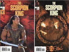 THE SCORPION KING #1-2 Rock Photo Covers 2002 Dark Horse Movie Adaptation! NM