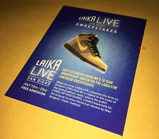 LAIKA LIVE comic con SDCC 2018 CORALINE nike shoes ENTRY FORM (contest expired)