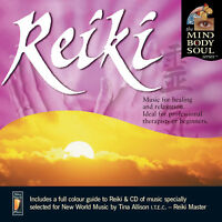 Reiki Music for Healing and Relaxation CD by Llewellyn and Tina Allison