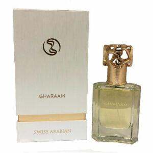 Gharaam Unisex Perfume Swiss Arabian 50ml Eau De Parfum  Fragrance jasmine amber
