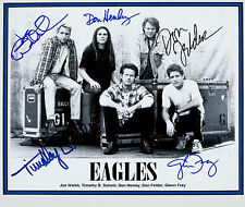 THE EAGLES Signed Photograph - Rock Band signed by 5 members - Preprint