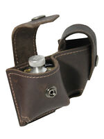 New Barsony Brown Leather Revolver Double Speed Loader Pouch .22 .38 .357