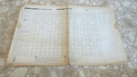 VINTAGE JOHNSON TORQUE CHART- OUTBOARD  MOTORS 2-200 HP