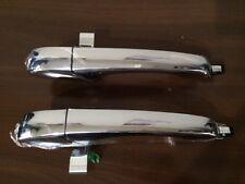 2 PCS Outside Door Handle Chrome for Chrysler 300C 2005-2010  (Rear LH + RH)