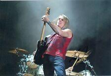 Foto/autógrafo Deep Purple/Ian Paice