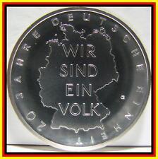 20 Jahre Deutsche Einheit In 10 Euro Gedenkmünzen Der Brd Günstig
