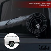 For 1994-2000 Chevy/GMC C10 C/K 6.5 Ft Short Bed Lock & Roll Soft Tonneau Cover