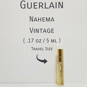 GUERLAIN NAHEMA ~ PARFUM DE TOILETTE  (5ml /.17oz Sample) Vintage