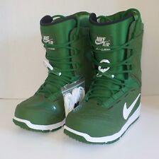 Nike Zoom KAIJU Snowboarding Boots GREEN WHITE 376276 310 Men Size 6 = Woman 7.5
