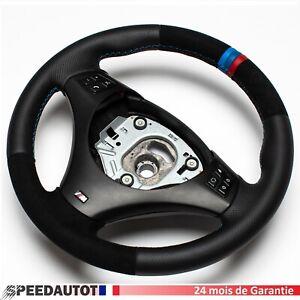 Volant Alcantara  BMW M-POWER E90 E91 E92 E93 Echange standard-