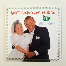 HENRI SALVADOR & MIA pour noël : DIS, HENRI ♦ CD Single ♦