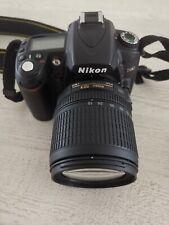 Nikon d90 DSLR kit incl. objetivamente 18-105mm