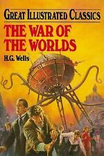 The War of the Worlds (Great Illustrated Classics)-ExLibrary
