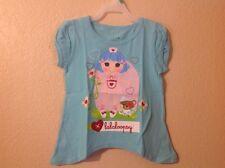 NEW!! Lalaloopsy NURSE  Girl T-Shirt  SIZE  4T Aqua COLOR
