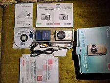 Canon PowerShot Digital ELPH SD880 IS Digital Camera 10.1 Megapixel (Used Once)