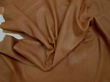 Analine leather 1.0mm Tan Extremely soft & supple - Superb. BARKERS HIDE N300