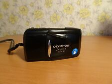 Olympus MJU ii ZOOM 80 Black All Weather 35mm Camera - Tested