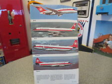 VINTAGE AIR CANADA ROUTES FLIGHT MAP AND TICKET