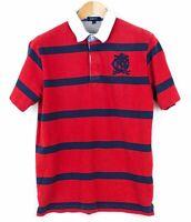 Gant Herren T-Shirt Polohemd Gestreifte Freizeit Baumwolle Top Größe L KZ33