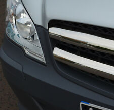Chrome Grille Accent Trim Set Covers To Fit Mercedes-Benz Vito W639 (2010-14)