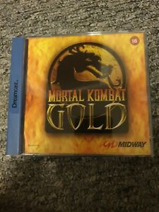 MORTAL KOMBAT GOLD VIDEO GAME FOR  THE DREAMCAST- CIB - PAL