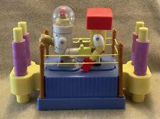 Spongebob Squarepants And Sandy Rock 'Em Sock 'Em Robots Boxing Game Mattel 2004