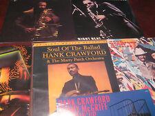 HANK CRAWFORD BALLAD OF SOUL MFSL 200 GRAM + 5 BONUS MILESTONE RECORDS