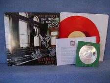"""Wilders, AUTOGRAPHED, Sittin On A Jury, Free Dirt DIRT 0055, 2007 RED, EP 10"""""""