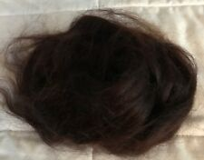 Mohair for wig making antique ooak and reborn dolls dark brown