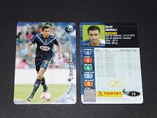 DAVID JEMMALI GIRONDINS BORDEAUX LESCURE PANINI FOOTBALL CARD 2006-2007