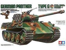 Modellini statici di veicoli militari Tamiya panther , Scala 1:35