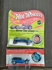 New Listing1969 2 Hot Wheel Redlines Demon & Grand Prix Lotus On Cards One Un Punched.