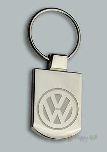 Engraved  VW  Design - Personalised free Metal Keyring Boxed