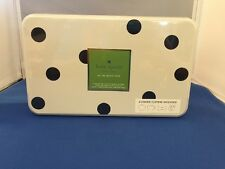 Kate Spade All In Good Taste 4 Cookie Cutters With Polkadots Storage Tin