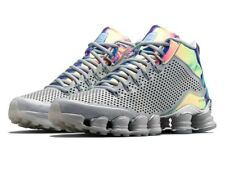 Mens 9 NIKE Shox TLX Mid SP Dusty Grey/reflect silver chrome Shoes 677737-006