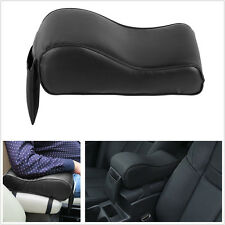 Black Leather Autos Center Console Seat Armrest Protector Pad Storage Phone Bag