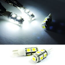 2x High Power 9 SMD LED 194 168 T10 For LEXUS Front Side Marker Light White Bulb