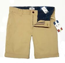 Tommy Jeans Herren ESSENTIAL CHINO SHORTS kurze Sommer HOSE Regular Fit KHAKI