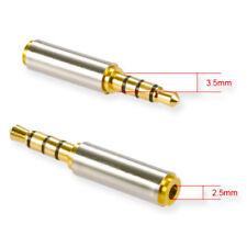 Audio Adapter 2,5mm Buchse auf 3,5mm Klinke Stecker Stereo Audio Konverter