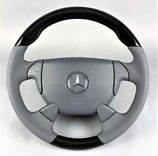 Mercedes slk r170 CLK w208 sl r129 AMG Sport Volant velours & bois vogelauge