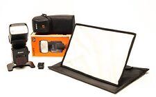 Sony Flash (Hvl-F58Am) + Flash Adapter + 2-Light Modifiers