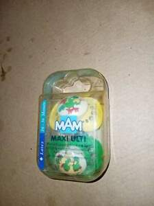 Vintage mam pacifier maxi ulti latex made in Austria