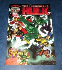 INCREDIBLE HULK #603 SUPERHERO SQUAD show 1:15 variant 1st print MARVEL COMIC NM